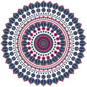 Mandala, Design, Geometrico