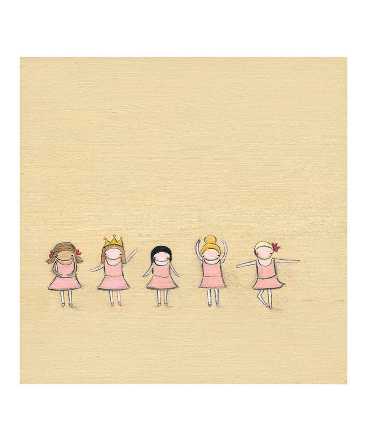 Creative Thursday Tiny Dancers Print | Creative, We and Dancers