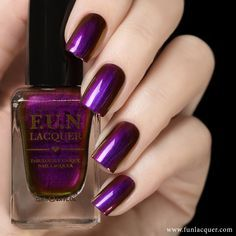 This beautifully made polish has astounding colors like purple, red and gold to give off a duochrome finish to any manicure. Fully opaque in 2-3 coats! Collection: Love 2015 Collection