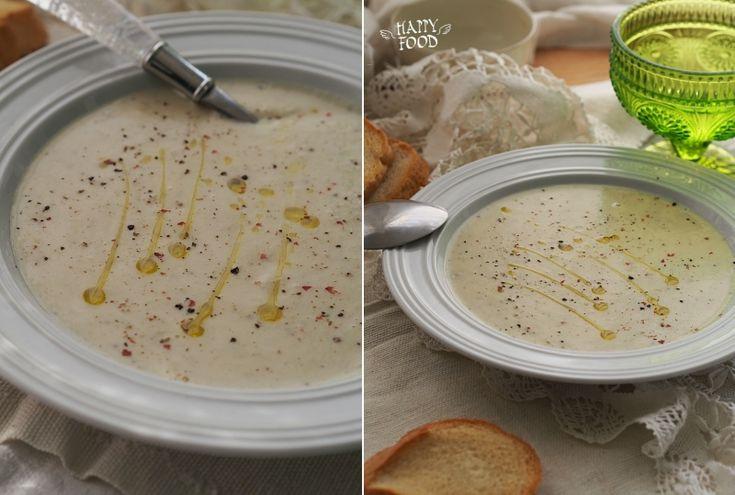 Нежный фасолевый суп с мускатным орехом
