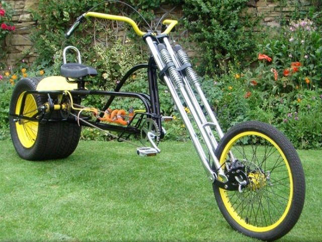 Atomiczombie Builder S Gallery Chopper Bicycle 12