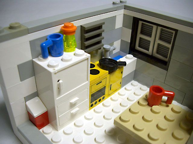 The 242 Best Lego Interior Kitchen Amp Dining Room