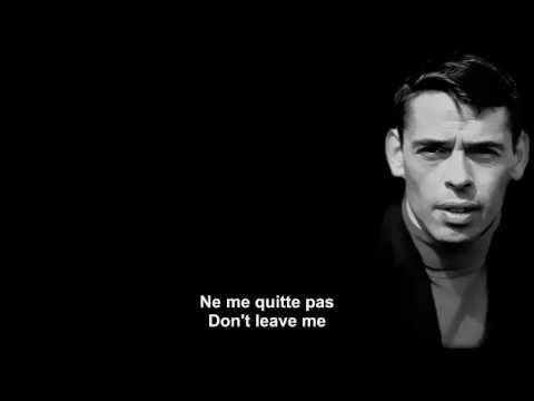 ▶ Ne me quitte pas - Jacques Brel - French and English subtitles.mp4 - YouTube