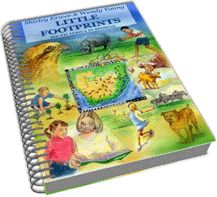 Little Footprints, South African Unit Study Curriculum, ages 4-7.