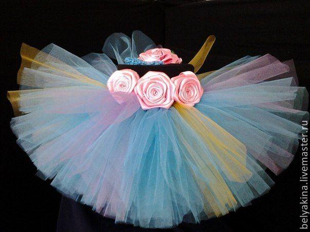 """Купить Юбочка tutu """"Ожидание"""" - разноцветный, юбочка для девочки, юбочка туту, tutu, пышная юбка"""