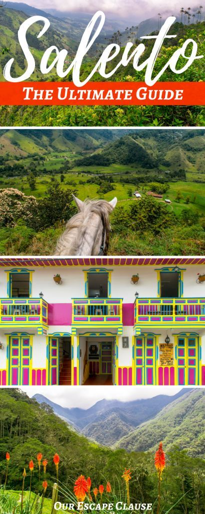 Find the best things to do in Salento, Colombia, along with where to stay, what to pack for Salento, tips for getting around town, and more! #salento #colombia #travel #itinerary #southamerica #hiking