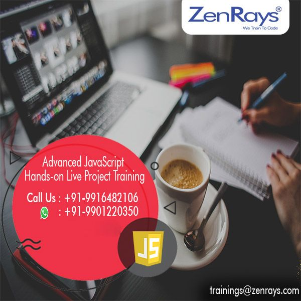 ZenRays provides the best hands-on JavaScript Training in Bangalore. Join our training. Learn and work on real time live project. We have JavaScript Training in BTM Layout and Koramangala.  Call us at +91 9916482106, 080 41127272, WhatsApp 9901220350. Write to us at corporate@zenrays.com  Visit http://zenrays.com/oops-javascript-training to know more.
