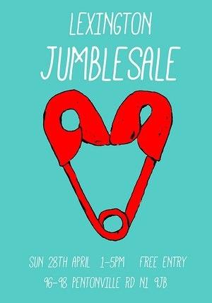 lexington jumble sale poster