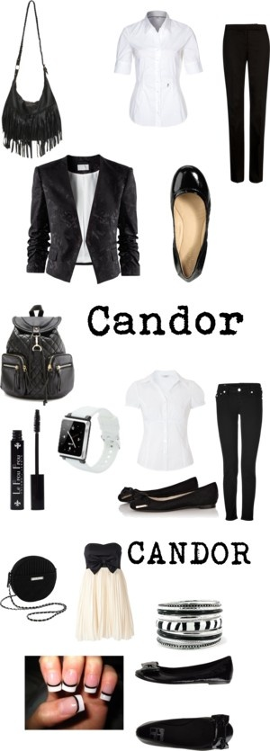 """""""Candor Outfits"""" by shadow13goddess101 on Polyvore"""