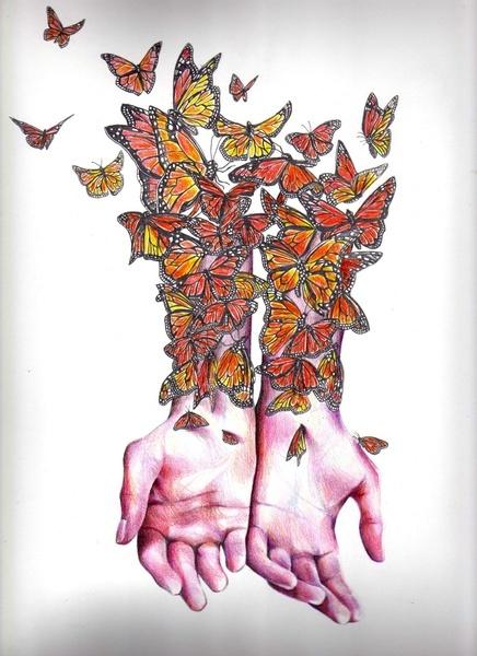 KatePowellArt - The Butterfly Project