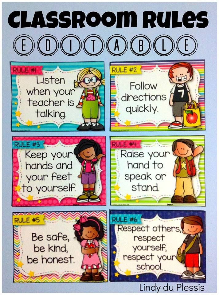 Kindergarten classroom decoration printables free download clip art - 17 Best Ideas About Classroom Rules Display On Pinterest