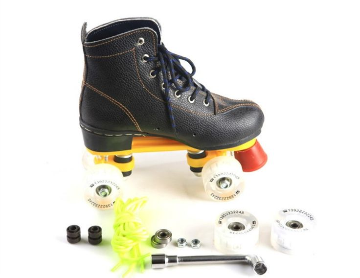 139.82$  Buy now - http://alif1m.worldwells.pw/go.php?t=32717770436 - 2016 hote sale top quality useful 4 Wheel Speed Roller Skates 139.82$