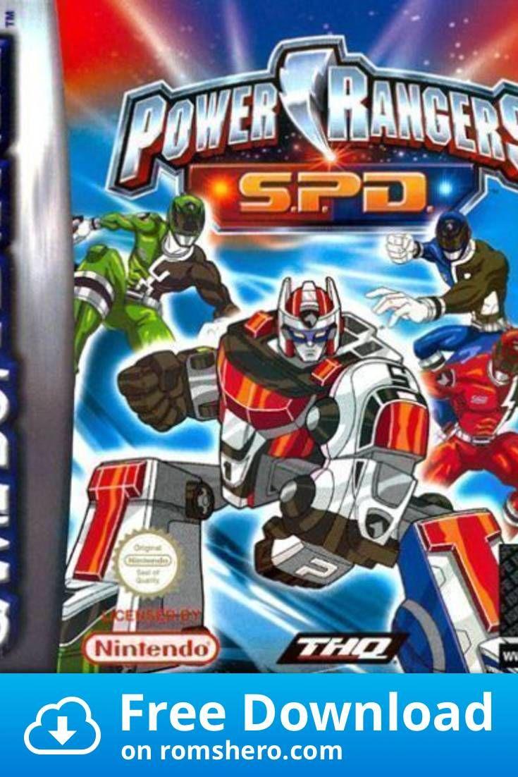 Download Power Rangers Space Patrol Delta Supplex Gameboy Advance Gba Rom Power Rangers Power Rangers Spd Power Rangers Space Patrol Delta