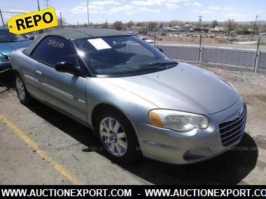 2004 CHRYSLER SEBRING  https://www.auctionexport.com/en/Inventory/Info/2004-chrysler-sebring-limited-convertible-104713112