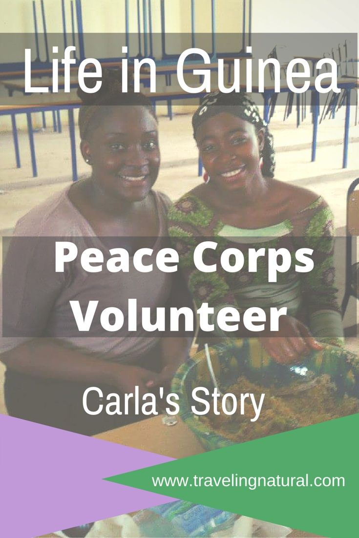 Ever wondered about life in Guinea? Check out Carla's story about her Peace Corps journey!