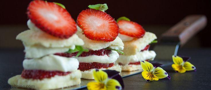 Une délicieuse recette de shortcake aux fraises