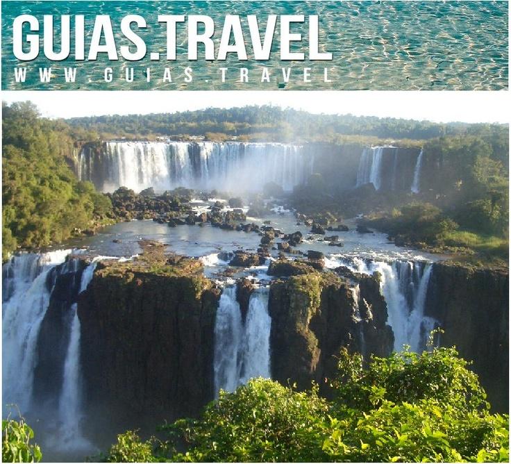 Una de las siete maravillas naturales del mundo. Cataratas de Iguazú, Misiones, Argentina.  www.hotelesiguazu.com  www.guias.travel