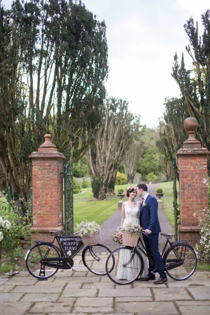 Picture prefect moment outside the walled garden in Tankardstown House