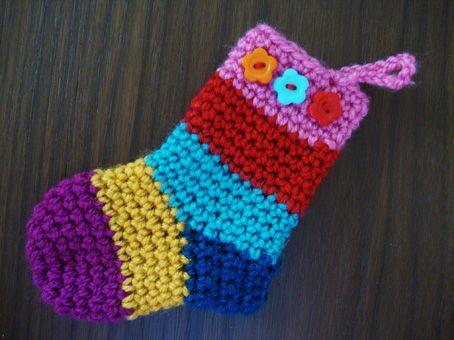 little crochet stockings
