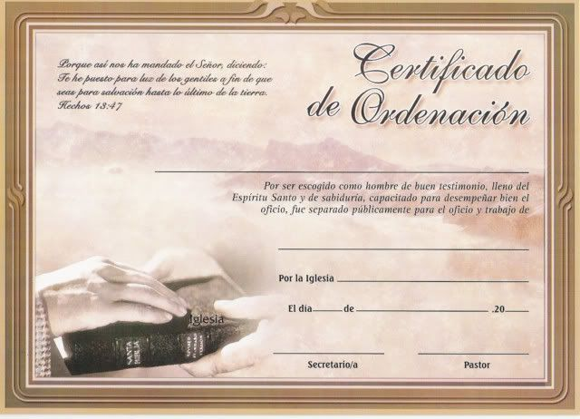 diplomas de reconocimientos cristianos
