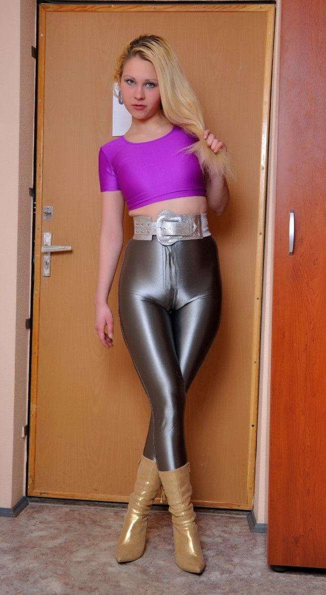latex leggings knullsugna tjejer