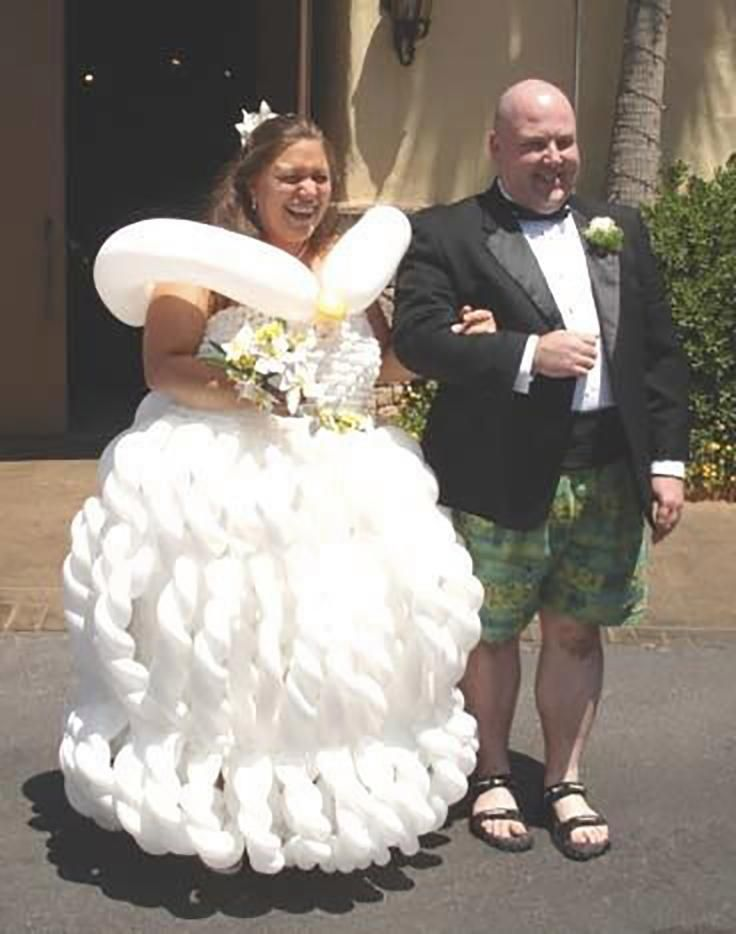 Pin By Evera Stine On Lol Stuff Weird Wedding Dress
