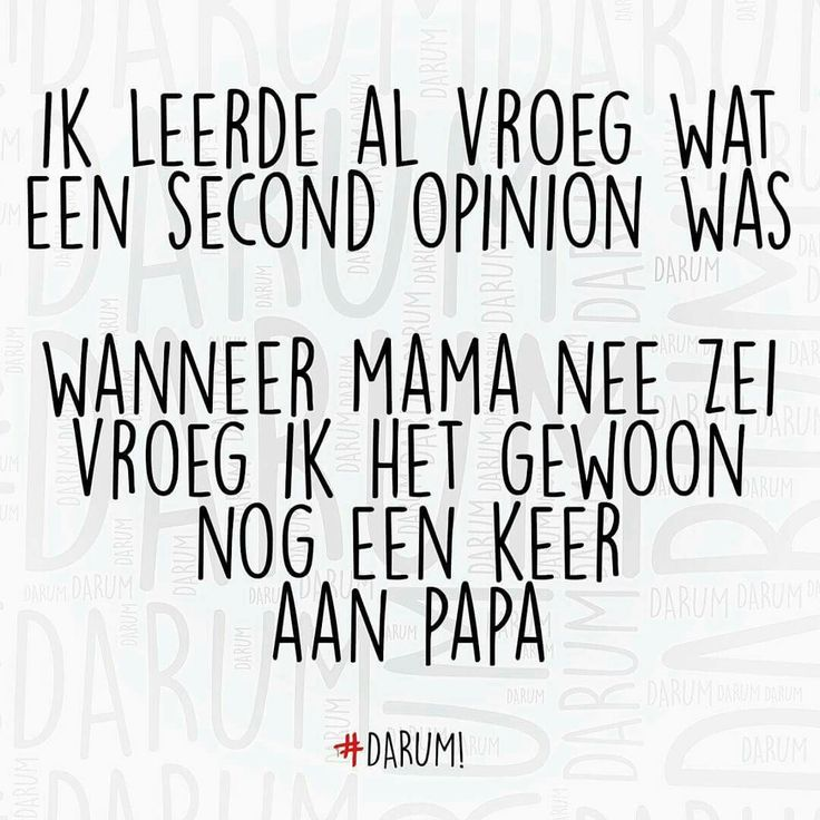 Gewoon een Second opinion