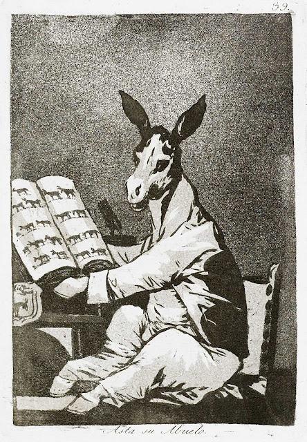 Asta su abuelo, Goya