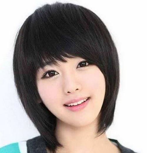 Asian Medium Texture Hairstyles 2014 for Women