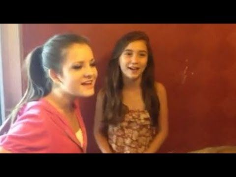 Rowan Blanchard and Brooke Hyland singing (RARE) - YouTube