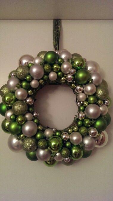 Weihnachtskranz grün