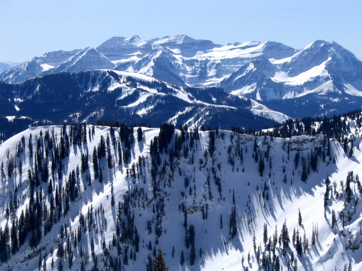 Brighton, Utah = the best ski resort in the country!