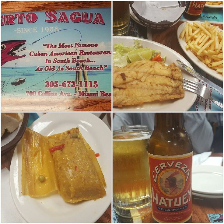 First time eating Cuban food along with a Cuban beer hooked especially the Tamal...