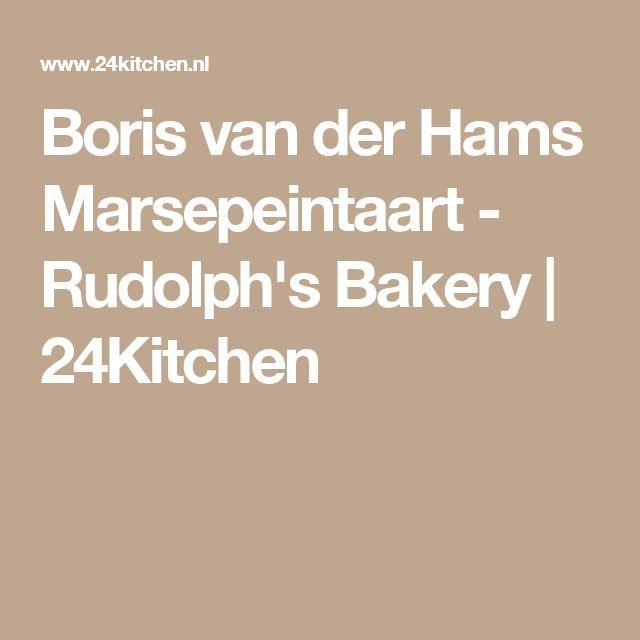 Boris van der Hams Marsepeintaart - Rudolph's Bakery | 24Kitchen