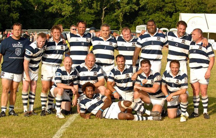 Bristol Legends - Team photo from the Legends Rugby tounrmanet