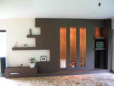 etagere placo bark csol s pinterest. Black Bedroom Furniture Sets. Home Design Ideas