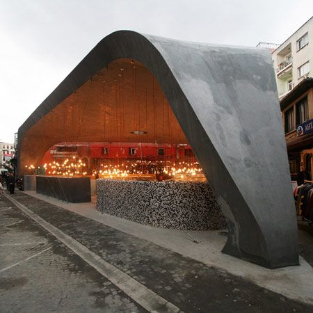 Besiktas Fish Market by GAD - Dezeen