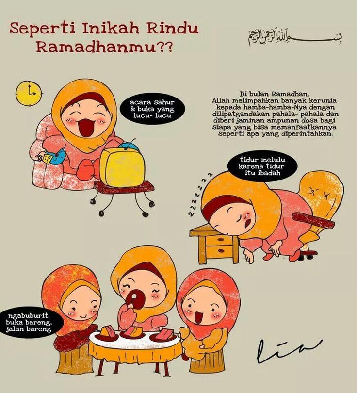 Apa yang di rindukan dari ramadhan?