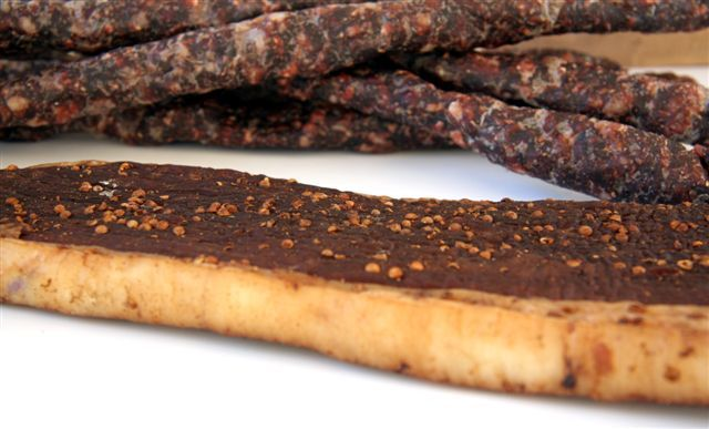 Biltong and dry wors..!  How to make it at home or buy in the USA.