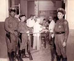 El 19 de abril de 1958 en Venezuela se llama a elecciones y fue convocado un plebiscito donde da a ganador a Perez Jimenez.