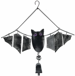 Bat Bell Glass Wind Chime