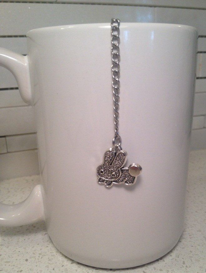 bunny charm tea infuser leaf tea infuser