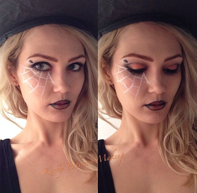 Witch Make up for Halloween