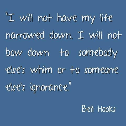 an introduction to the life of bell hook Bell hooks proposes an engaged pedagogy to counteract the overwhelming boredom, disinterest, and apathy that so often characterize the way professors and students feel about the teaching and learning experience hooks attributes student alienation in schools to discriminatory racist, sexist, and.
