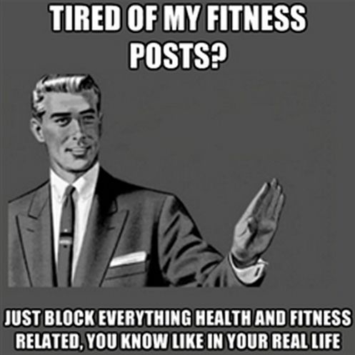 hahahah! Love this! #fitness #funny