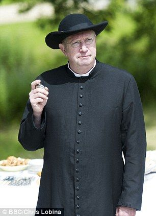 Mark Williams as the wise and wily Father Brown is one of the best things currently on TV