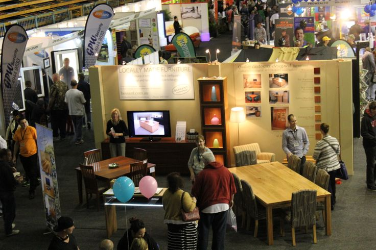 Exhibitors from the 2013 Newcastle Home Show.