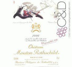 Folgen Sie diesem Link für mehr Details über den Wein: http://www.c-und-d.de/Bordeaux-Pauillac/Chateau-Mouton-Rothschild-1996-1-Cru-Classe-Pauillac-1500L_16528.html?utm_source=16528&utm_medium=Link&utm_campaign=Pinterest&actid=453&refid=43 | #wine #redwine #wein #rotwein #pauillac #frankreich #16528