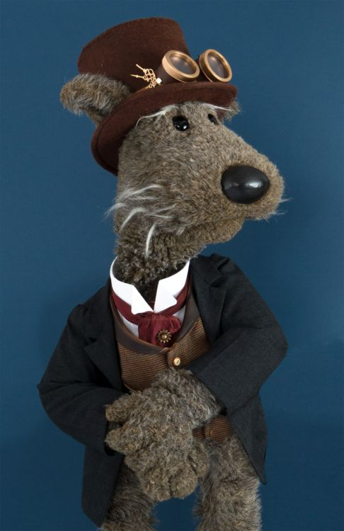 Ruffus The Dog in Ruffus The Dogs Steampunk Adventure, launching this weekend at Fan Expo in Toronto (booth A182)