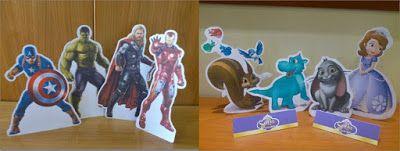 Sweet Table: Centro tavola  figura grande personaggi a scelta